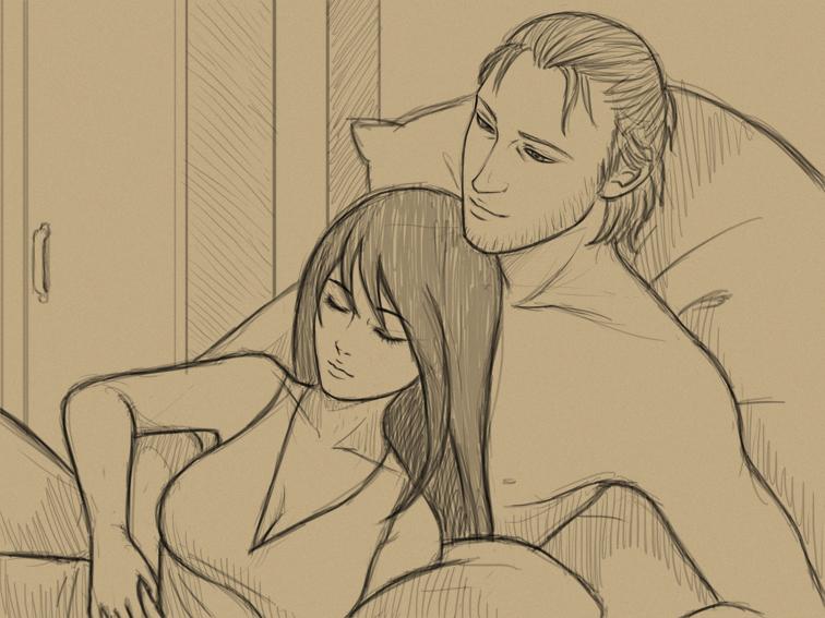 cuddles by Lilithblack