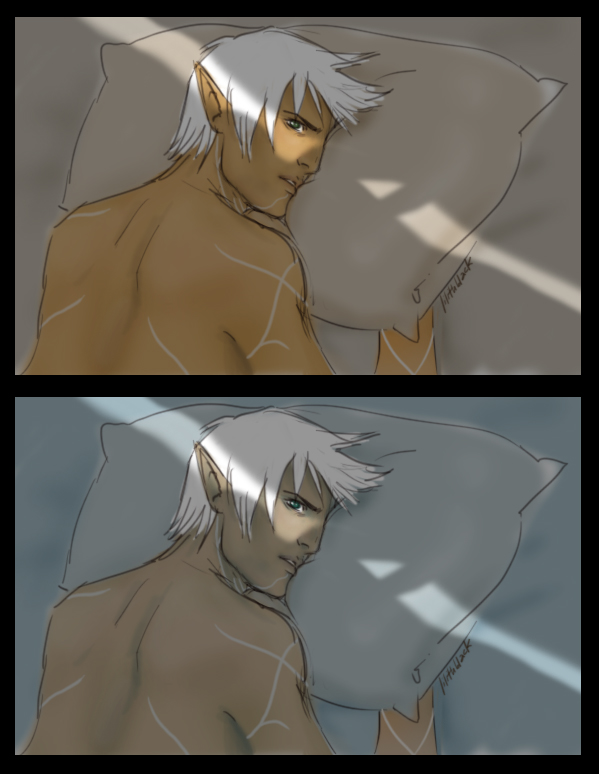 Fenris - bed by Lilithblack
