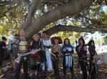 Dragon age group cosplay comic con 2015