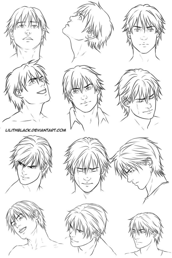 Alex Hawke expressions by Lilithblack