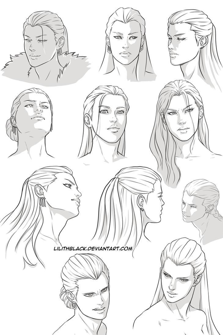 Gwern Hawke expressions by Lilithblack
