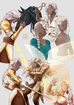 Ramiel - protector Aasimar