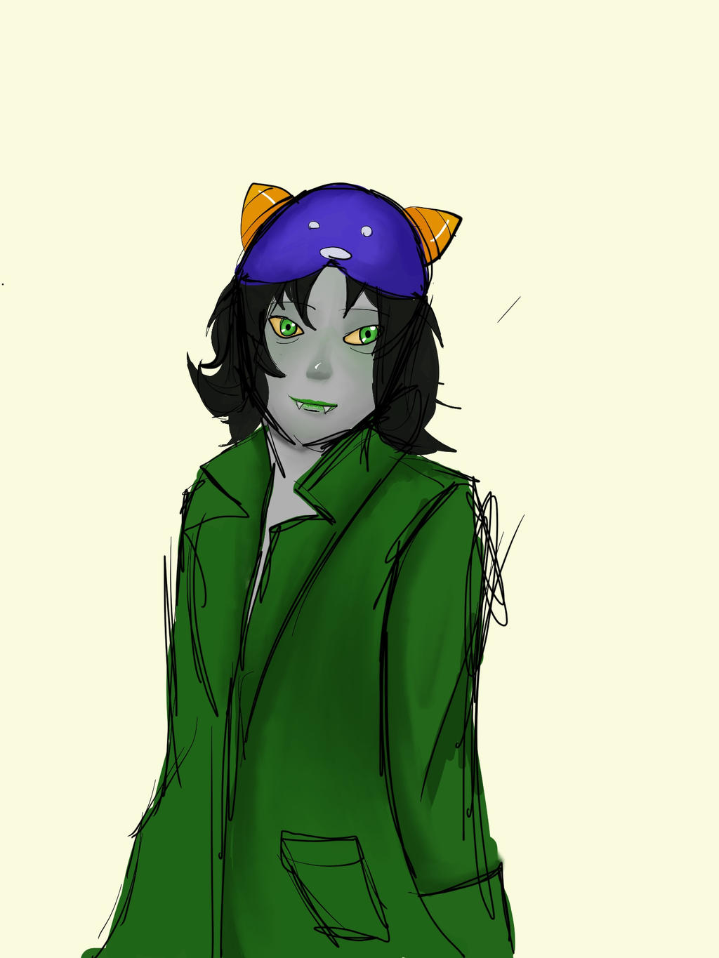 Nepeta doodle by TheLearningArtist