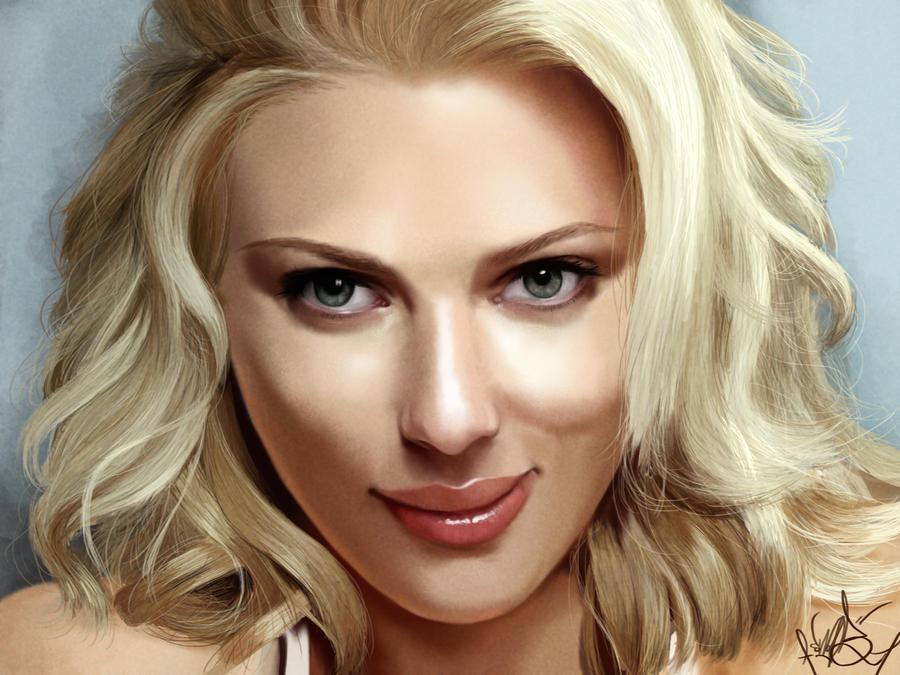 Scarlett Johansson by SnobVOT