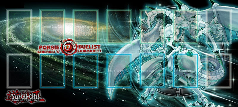 Shooting Star Dragon Playmat By Semmutt