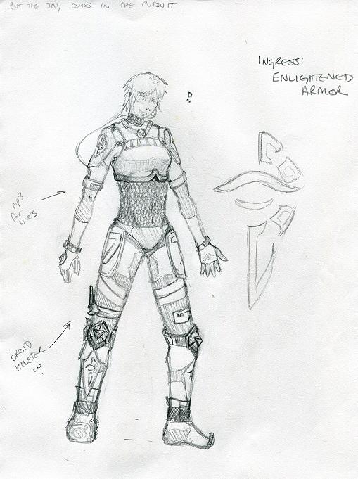 Ingress enlightened armor design by sinecostangent on deviantart ingress enlightened armor design by sinecostangent altavistaventures Image collections