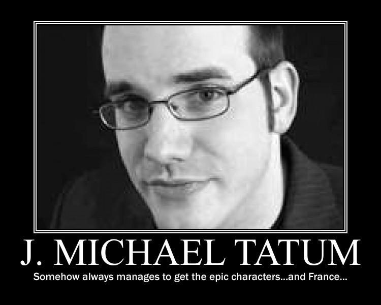 j michael tatum anime characters - photo #21