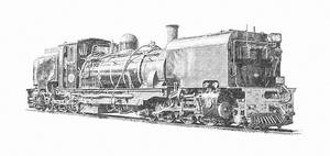 SOUTH AFRICAN Class NG G16 2-6-2+2-6-2