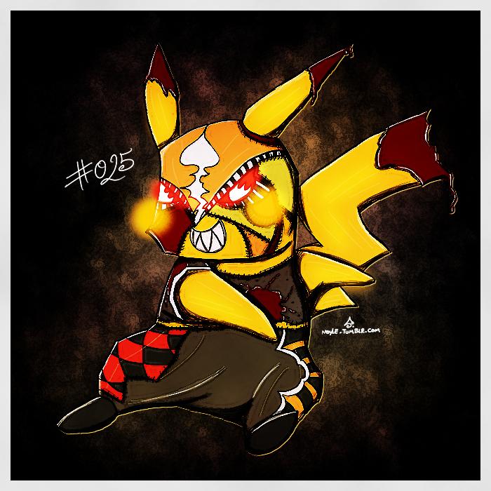 Pokemon Of The Week Pikachu Libre By Noyle On Deviantart
