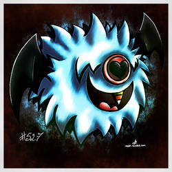 Pokemon of the Week - Woobat by Noyle