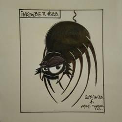 Inktober 2019 #23 - Spider