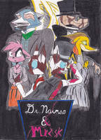 R.A.'s Dr. Nainso and Mr. Zisk by Reptilian-Angel