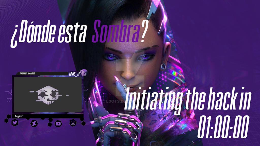 Sombra Countdown Stream Overlay by L0ots on DeviantArt