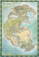 Pangea map