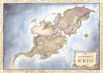 Continent of Krig map