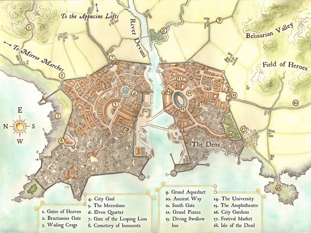 fantasy city map maker