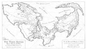 The Three Sisters map