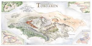 Torgaren map
