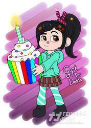 Vanellope Birthday Gift For Dakln