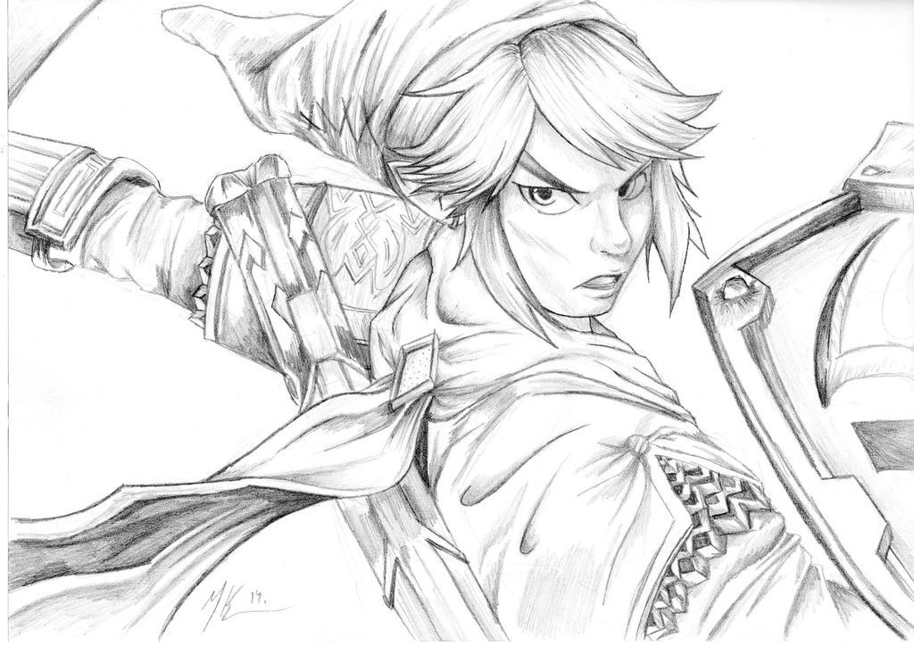 link hyrule Warriors by kayfullcolor