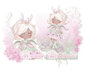 [AES] Wildflower Week_Lily of the valley [OPEN]