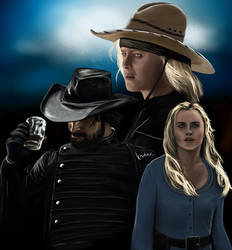 Westworld: Armistice, Hector and Dolores