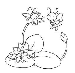 Lotus Bee Rumi Commission 2