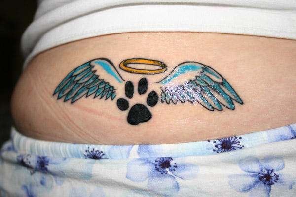 Tattoo- Paw by jessiquita