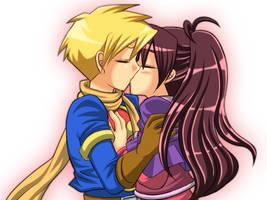 Kiss by gmb83