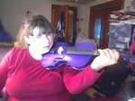 InsaneXade Holding My Violin by InsaneXade