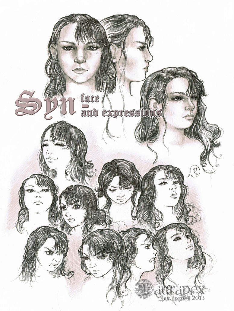 Syn - face and expressions by LauraPex