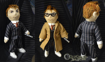 Doctor Who - tenth doctor - handmade doll