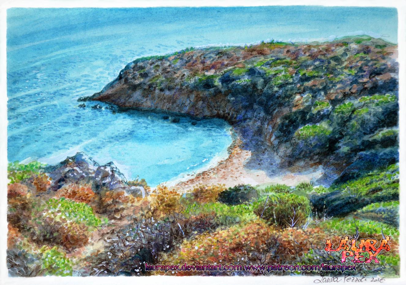 Sardinia landscape by LauraPex