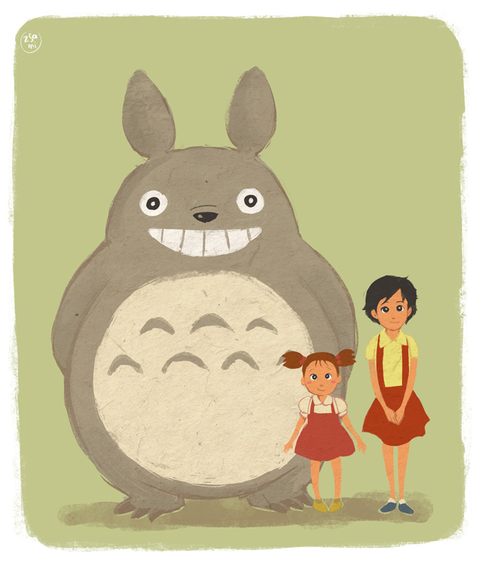 Totoro! by zsami