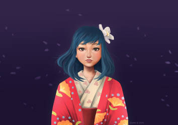 Naoko - The Wind Rises by zsami
