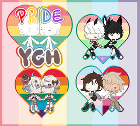 PING LIST OPEN| Pride Couples YCH