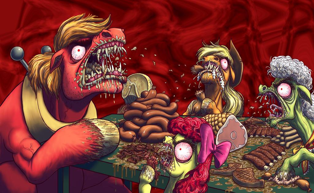 Eat meat by AWildDrawfagAppears