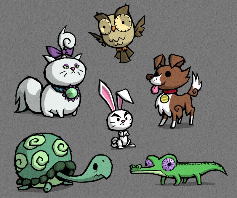 WW Pets by AWildDrawfagAppears