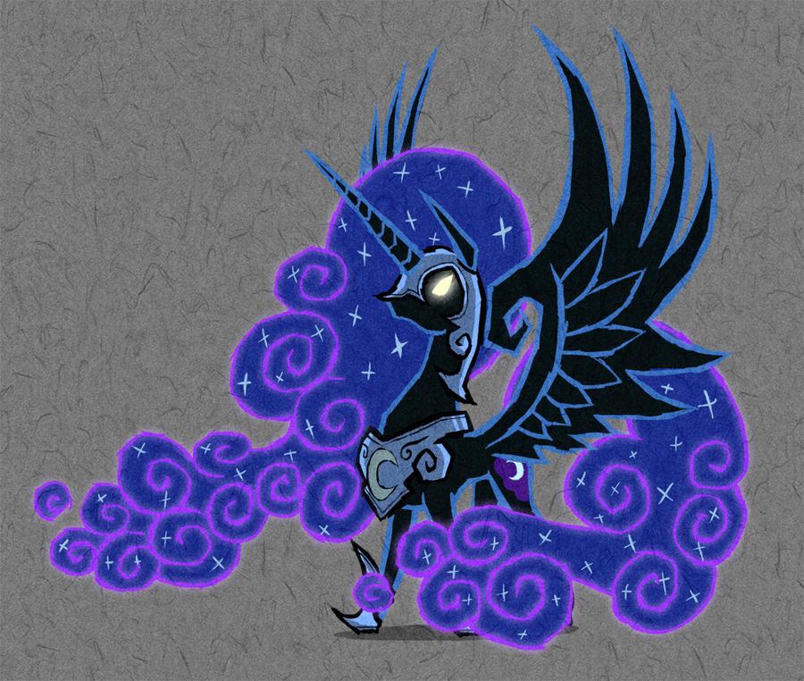 Wind Waker - Nightmare Moon by AWildDrawfagAppears