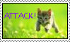Attack stamp by Neko-Tan