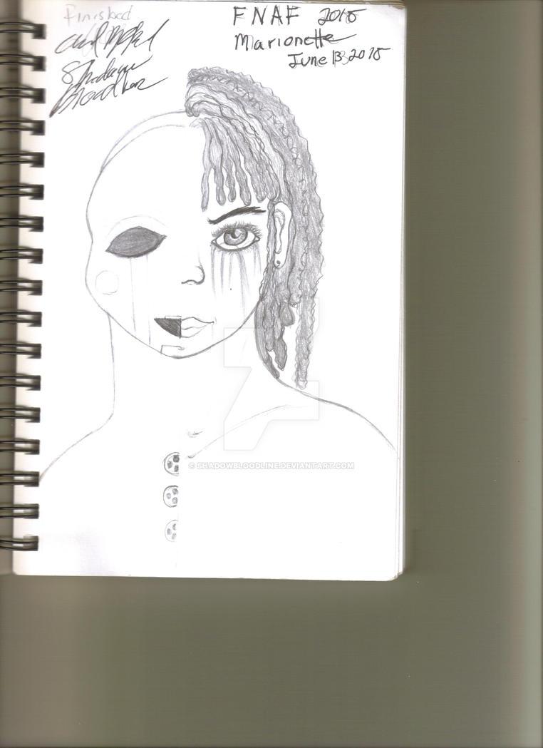 FNAF Marionette by shadowbloodline