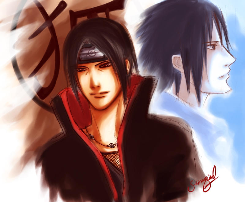 صور موت ناروتو Naruto__Itachi_and_Sasuke_by_stirringwind.jpg