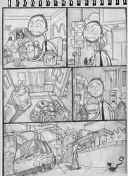 old comic by HaithamTwin