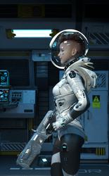 Space Patrol by BlackCometCometh