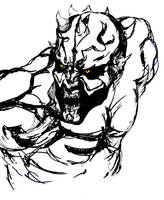 Darth Maul sketch by dead01