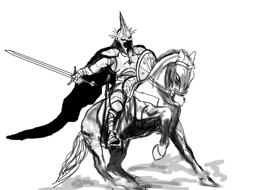 Angmar in battle by dead01