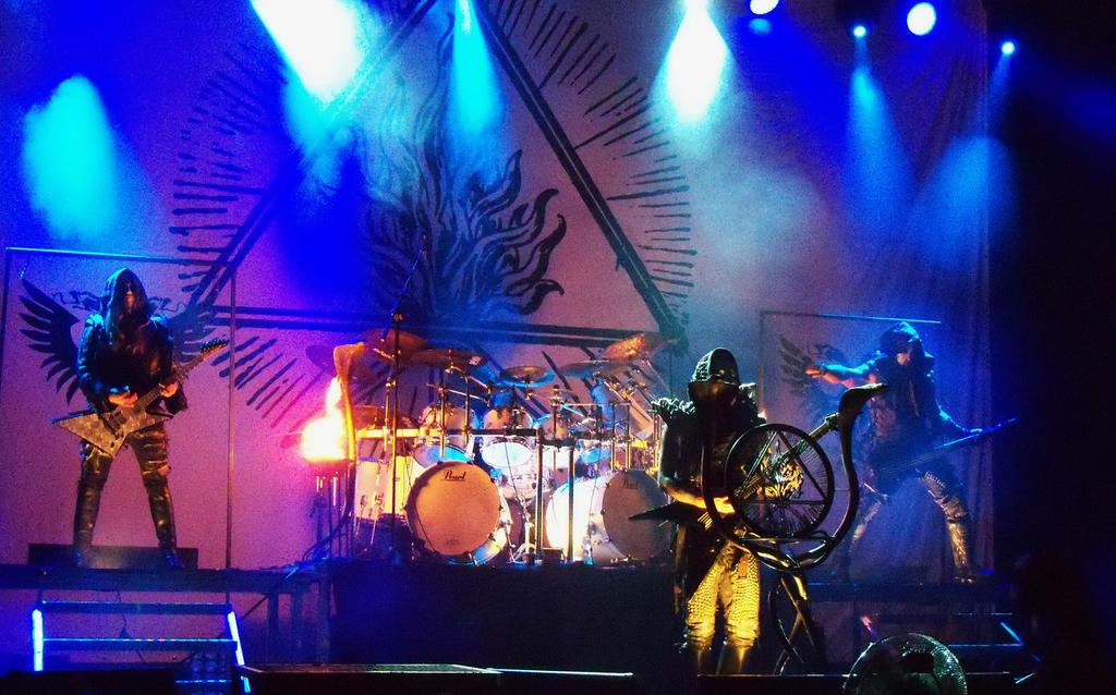 Behemoth, Satanist tour 2014 by dead01