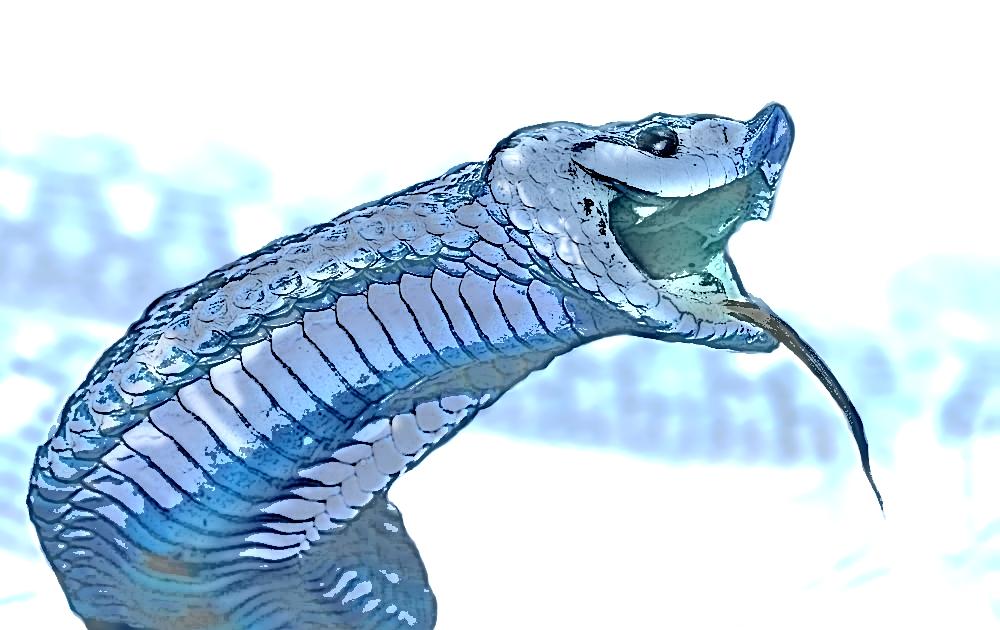 Blue Heterodon by dead01