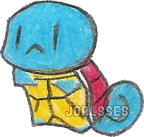 Squirtle chibi by Joalsses