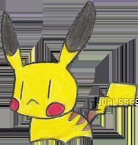 Pikachibi by Joalsses